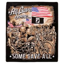 hot leathers all gave some memorial 10 x11 patch