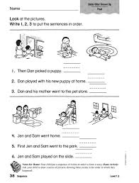 Chronological Order Worksheets Free Worksheets Library | Download ...
