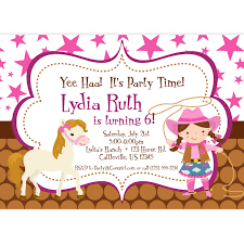 cowgirl birthday invitations templates invitations ideas cowgirl birthday invitations templates