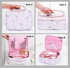 jiaruo las travel women make up makeup organizer bag cosmetic bag toiletry travel kits beautician storage