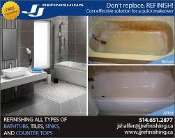 jj refinishing kitchen bath 3850 rue jean talon o mont royal montreal qc phone number yelp