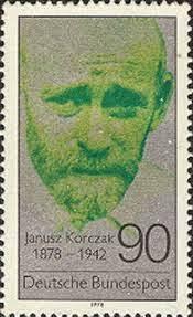 Resultado de imagem para selo de Janusz Korczak