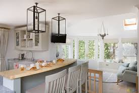 Kitchen Conservatory Katie Malik Shaker Style Kitchen With A Contemporary Twist