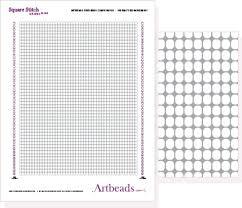 Printable Seed Bead Graph Paper Free Designer Download