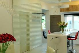 glass wall partition office design panel for home