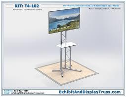 Flat Screen Display Stand LCD Plasma Screen Mounts T100100 36