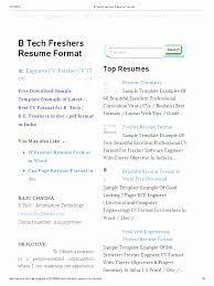 By Photo Congress Sample Resume For Btech Eee Freshers