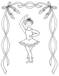 Dance Coloring Pages Getcoloringpagescom