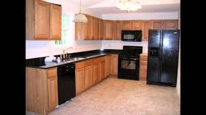 kitchen color ideas with oak cabinets and black appliances. Kitchen : Color Ideas With Oak Cabinets And Black Appliances Library Baby Style Compact Kids P