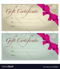 voucher vector images over vectorstock gift voucher vector