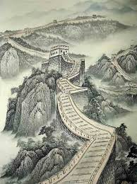 chinese great wall painting 50cm x 33cm 1336001 x