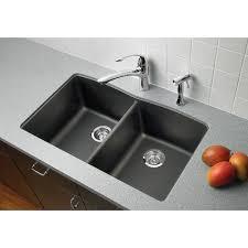 blanco 440184 diamond 32 x 19 1 4 undermount double bowl silgranit kitchen sink