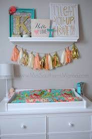We Love How This Southern Mama Decorated Her Coral Nursery with Coral  Camila Baby Bedding from