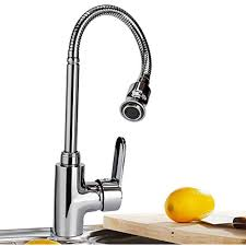 360 Rotatable Hot And Cold Water Kitchen Sink Faucet Mixer Single