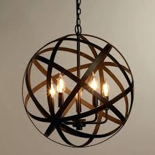 wood orb light wood orb chandelier crystal orb chandelier and glass