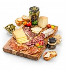reserve charcuterie and french cheese gift cheese charcuterie gifts a deluxe gift of charcuterie imported cheese and fine acpaniment arrives in a
