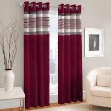 Designer Curtains Flipkart Queensworth 214 Cm 7 Ft Polyester Door Curtain Pack Of 2