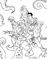 Small Picture Free Ghostbusters Coloring Pages vincent Pinterest
