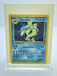 We have a large selection of pokemon singles. Gyarados Base Set 6 102 Value 0 99 859 99 Mavin