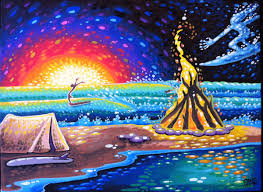 creative painting ideas canvas heart