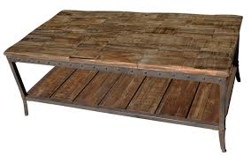 weathered coffee table rustic wood accent tables crossmill collection coffee table