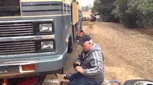 Motorhome Rv brakes - YouTube