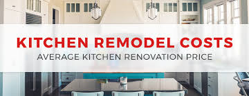 Kitchen Remodel Pricing How Much Does It Cost To Remodel A Kitchen In 2019