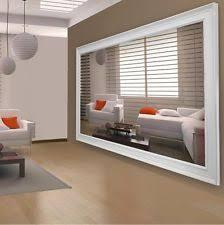4mm Glass Mirror 2440 X 1220 + FRAME Kitchen Hall Bathroom Bedroom Mirror  Sheet