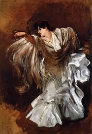 la carmencita by john singer sargent oil painting 1890