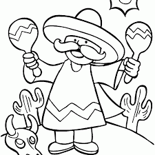 Celebrate the pride of mexico and cinco de mayo with this comprehensive thematic unit. Cinco De Mayo Coloring Pages For Kids Coloring4free Coloring4free Com