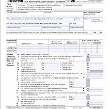 However, since more people have moved away from submitting on paper, those mailings have discontinued. Form 1040 Nr U S Nonresident Alien Income Tax Return Definition