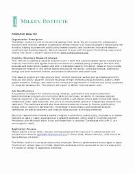 Business Analyst Resume Examples Awesome Public Policy Cover Letter