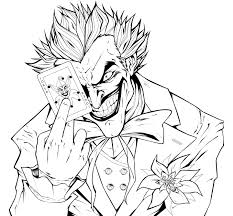 Small Picture Joker Coloring Pages Printable My image Sense Coloring Pages