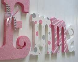 baby nursery decor custom personalized letters for on personalized wall decor for nursery with nursery wall letters etsy