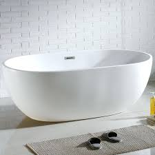 florence 60 x 34 alcove acrylic soaking bathtub with left
