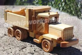 free wooden toy dump truck plans