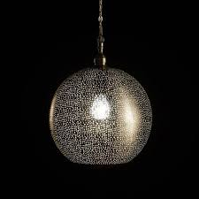 Punched Metal Lamp Shades
