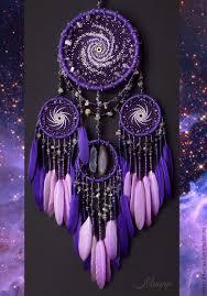 Pics Of Dream Catchers Купить Ловец снов мобиль Млечный Путь violet космос ловец 2