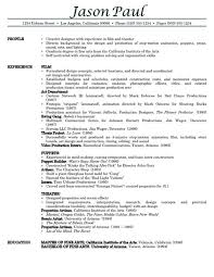 Resume Sample Of Resume And Resume Templates On Pinterest Film Resume  Template