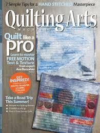 Quilting Arts August/September 2017 Digital Edition &  Adamdwight.com