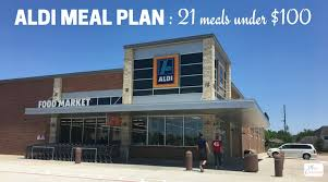 weekly meal plans on a budget aldi meal plan 21 meals under 100