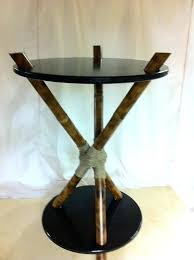 3 legged table introduction make a 3 legged bamboo accent table three legged round table plans
