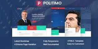 Politimo Responsive Political Html5 Template
