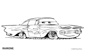 Cars Cartoon Coloring Pages Police Car Page Classic Book As Well Cop