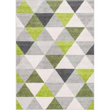 this review is from mystic alvin modern geometric green 5 ft x 7 ft mid century triangles area rug