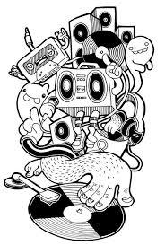 20 Graffiti Cartoon Characters Coloring Ideas And Designs