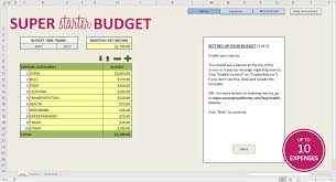 Budget Worksheets Free Budget Template For Excel Savvy Spreadsheets