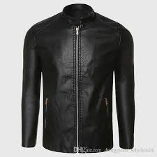 biker leather jacket men pu leather suede jacket male aviator flight suit black biker clothing slim zipper motorcycle punk style coats mens brown leather