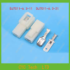 popular battery wire harness buy cheap battery wire harness lots 2set dj7011 6 3 11 21 6 3mm 1 pin storage battery electric connector