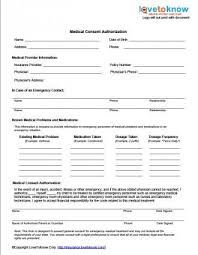 School Medical Form Template Free Medical Release Forms Medical Kids ...
